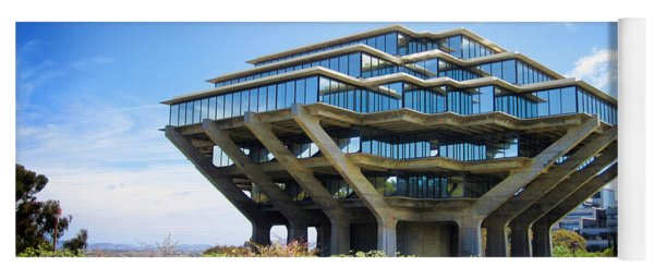 Ucsd Geisel Library Yoga Mat