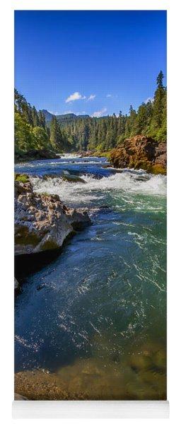 Umpqua River Yoga Mat