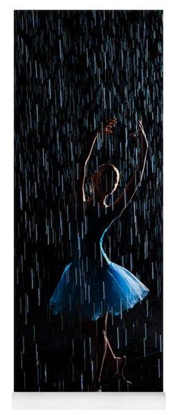 Under The Rain Yoga Mat