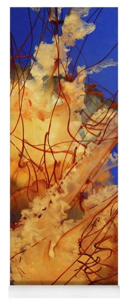 Underwater Friends - Jelly Fish By Diana Sainz Yoga Mat