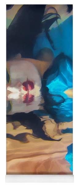 Underwater Geisha Abstract 1 Yoga Mat