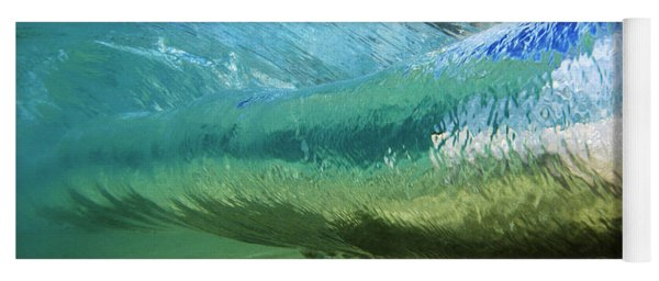 Underwater Wave Curl Yoga Mat