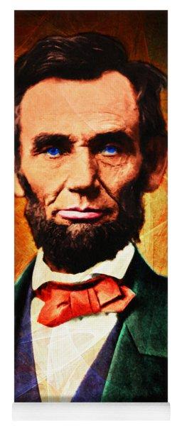United States President Abraham Lincoln 20140914 Yoga Mat