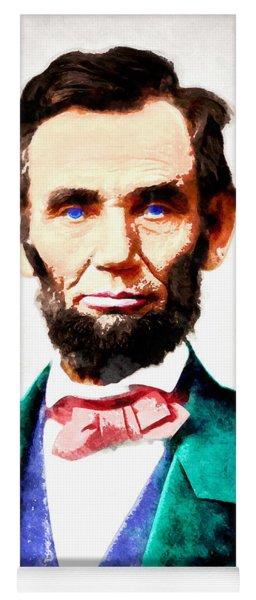 United States President Abraham Lincoln 20140914wc V2 Yoga Mat
