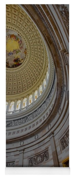 Unites States Capitol Rotunda Yoga Mat