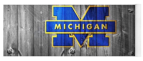 University Of Michigan Yoga Mat