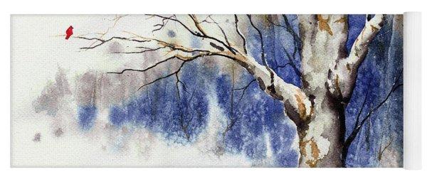 Untitled Winter Tree Yoga Mat