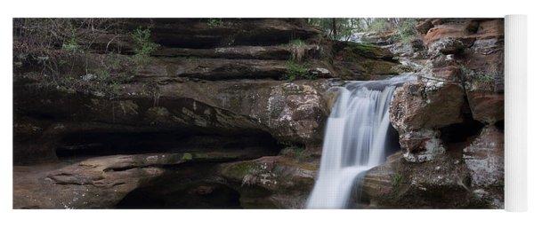 Upper Falls At Old Mans Cave II Yoga Mat