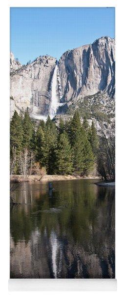 Upper Yosemite Fall Yoga Mat