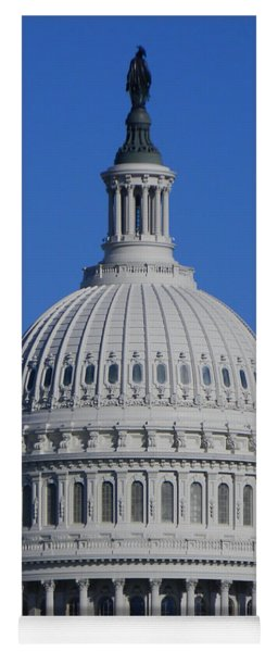 Us Capitol Dome Yoga Mat