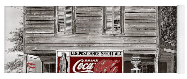 U.s. Post Office General Store Coca-cola Signs Sprott  Alabama Walker Evans Photo C.1935-2014. Yoga Mat