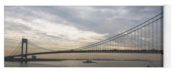 Uss Cole And The Verrazano Narrows Bridge Yoga Mat