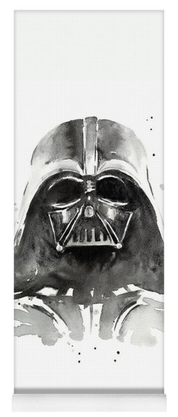Darth Vader Watercolor Yoga Mat