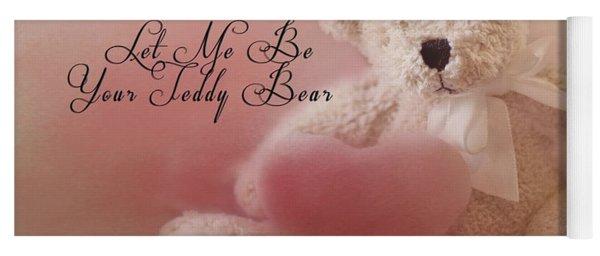 Valentine Bear 2 Yoga Mat
