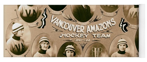 Vancouver Amazons Women's Hockey Team 1921 Yoga Mat