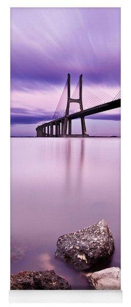 Vasco Da Gama Bridge Yoga Mat