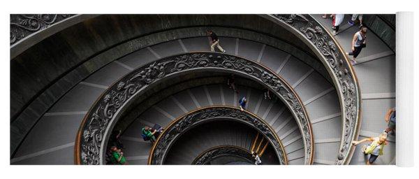 Vatican Spiral Staircase Yoga Mat