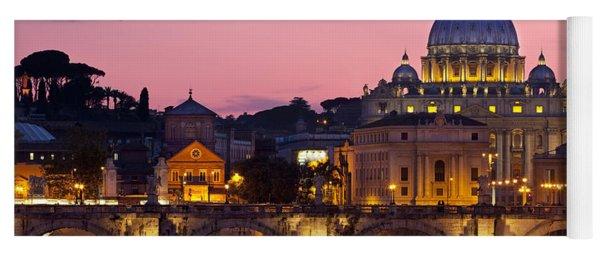 Vatican Twilight Yoga Mat