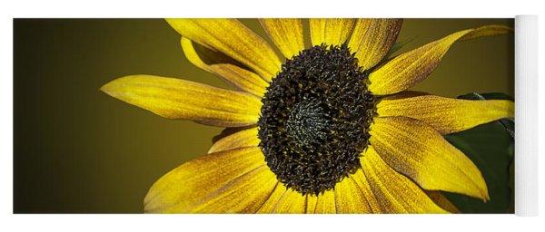 Velvet Queen Sunflower Yoga Mat
