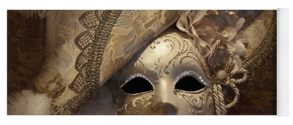 Venetian Face Mask F Yoga Mat
