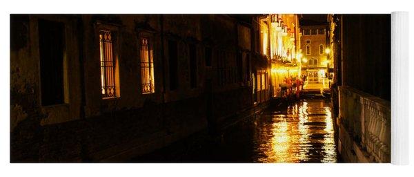 Venetian Golden Glow Yoga Mat