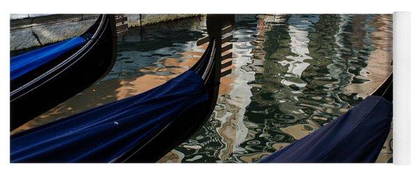 Venetian Gondolas Yoga Mat