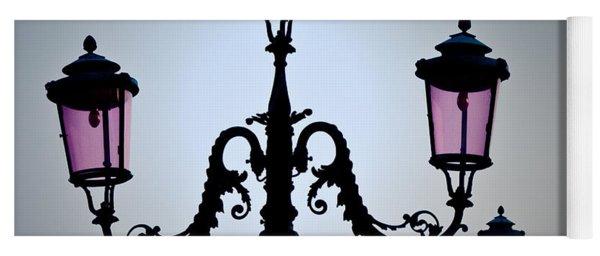 Venetian Lamps Yoga Mat