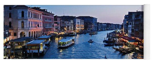 Venezia - Il Gran Canale Yoga Mat