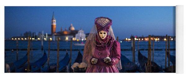Venice Carnival '15 V Yoga Mat