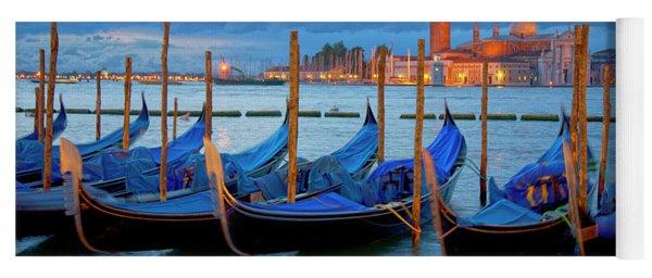 Venice View To San Giorgio Maggiore Yoga Mat