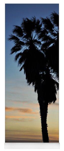 Ventura Palm Sunset Yoga Mat