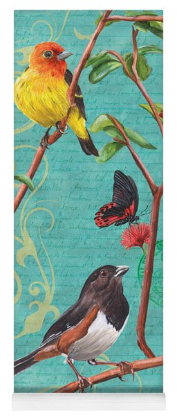 Verdigris Songbirds 2 Yoga Mat