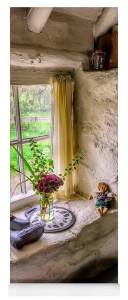 Victorian Window Yoga Mat