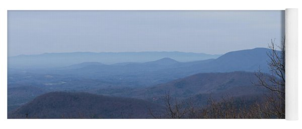 View From Springer Mountain Yoga Mat