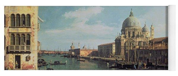 View Of The Grand Canal Santa Maria Yoga Mat