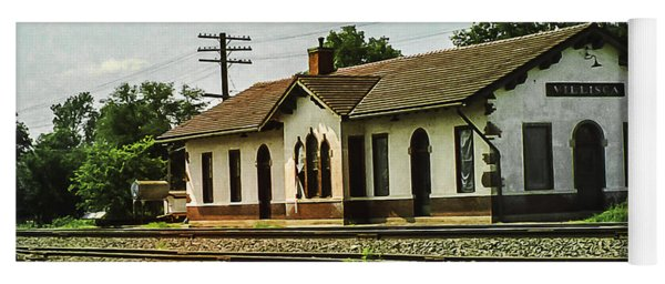 Villisca Train Depot Yoga Mat