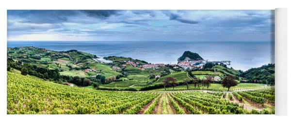 Vineyards By The Sea Yoga Mat