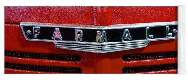 Vintage 1947 Farmall Tractor Yoga Mat