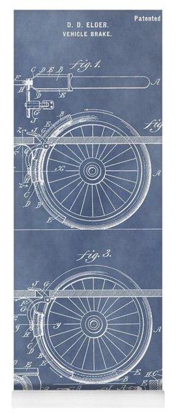 Vintage Brake Patent Yoga Mat