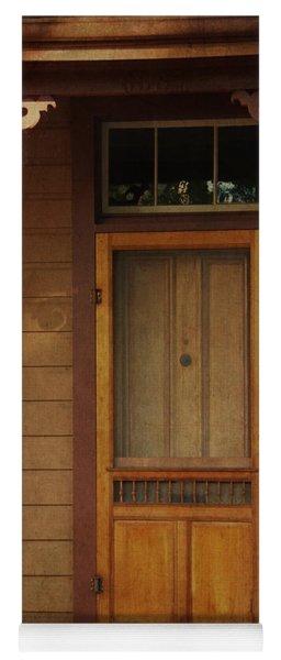 Vintage Doorway Yoga Mat
