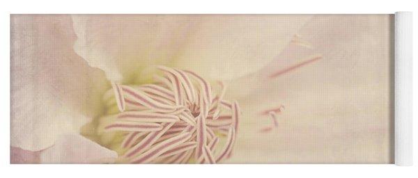 Vintage Flower Art - A Beautiful Place Yoga Mat