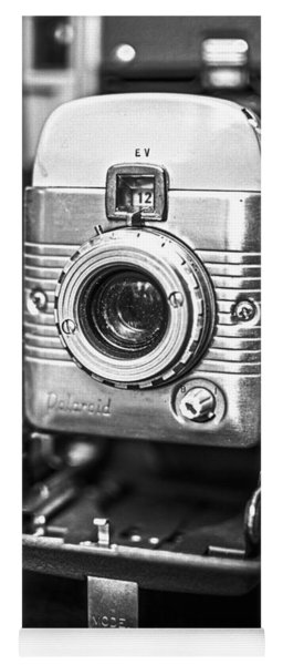 Vintage Polaroid Land Camera Model 80a Yoga Mat