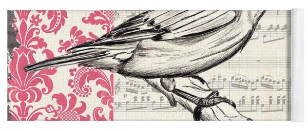 Vintage Songbird 1 Yoga Mat