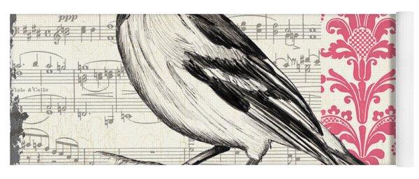 Vintage Songbird 2 Yoga Mat