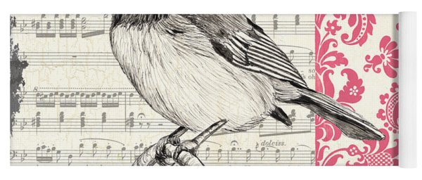 Vintage Songbird 3 Yoga Mat