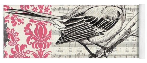Vintage Songbird 4 Yoga Mat
