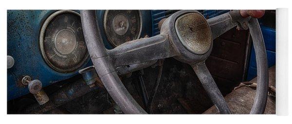 Vintage Truck 2 Yoga Mat