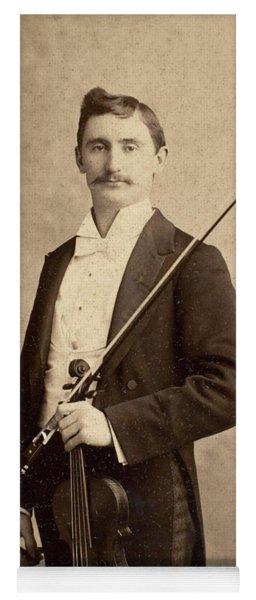 Violinist, C1900 Yoga Mat