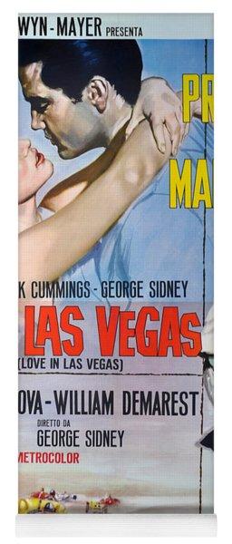 Viva Las Vegas Yoga Mat