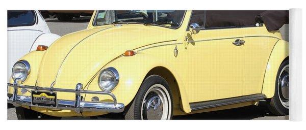 Volkswagen Convertible Vintage Yoga Mat